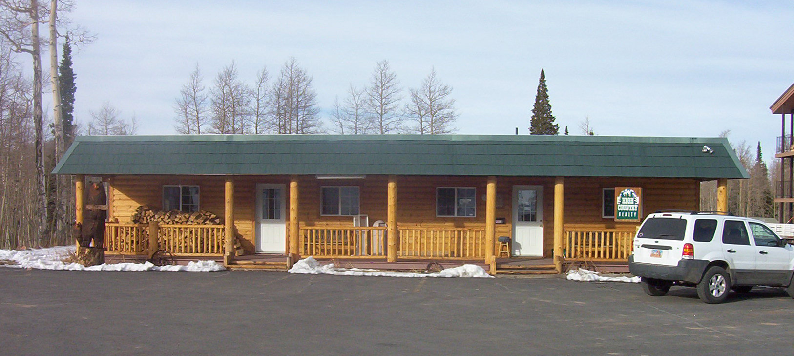out family head cabin vrbo ski in escape brian cabins rentals mountainside